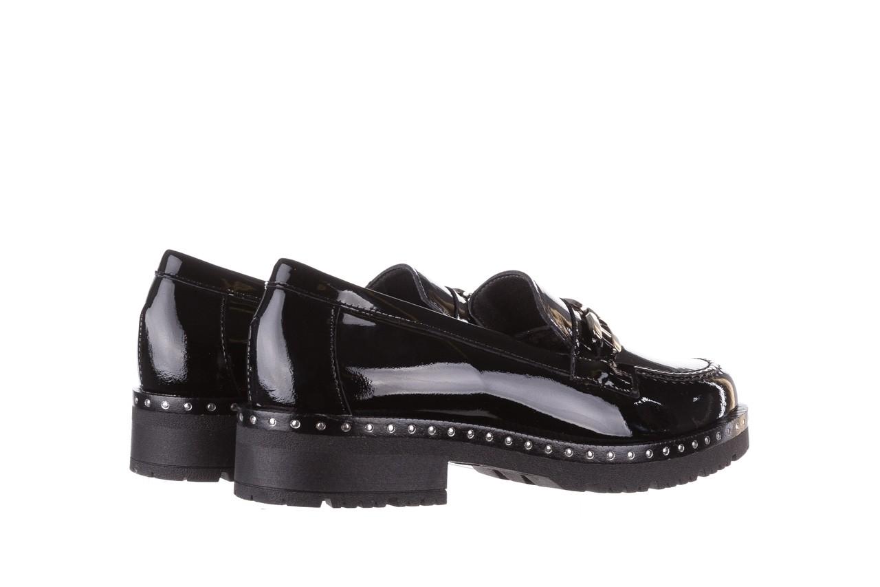 Półbuty pitillos 5811 negro, czarny, skóra naturalna lakierowana  - na obcasie - półbuty - buty damskie - kobieta 12