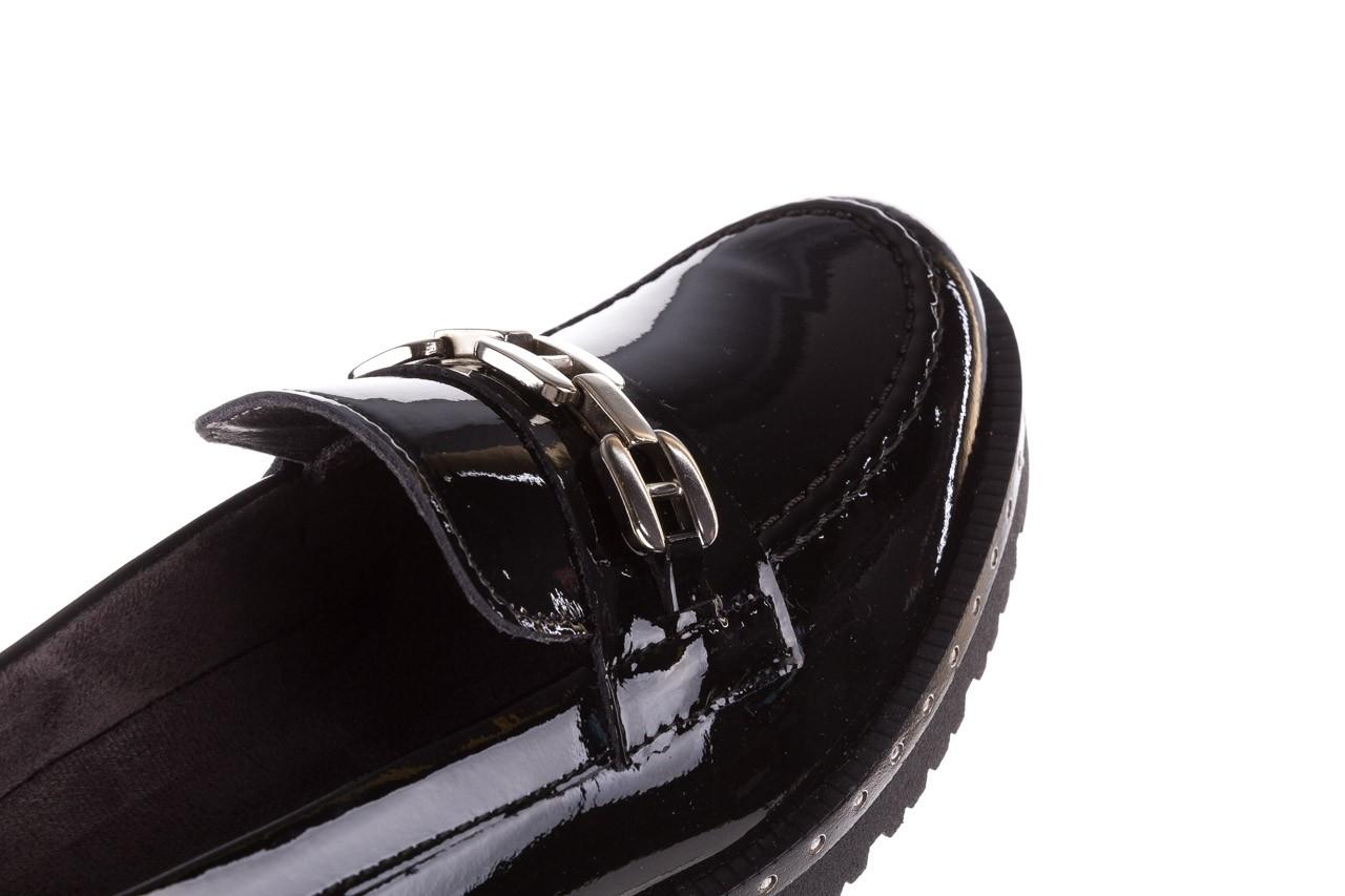 Półbuty pitillos 5811 negro, czarny, skóra naturalna lakierowana  - na obcasie - półbuty - buty damskie - kobieta 14