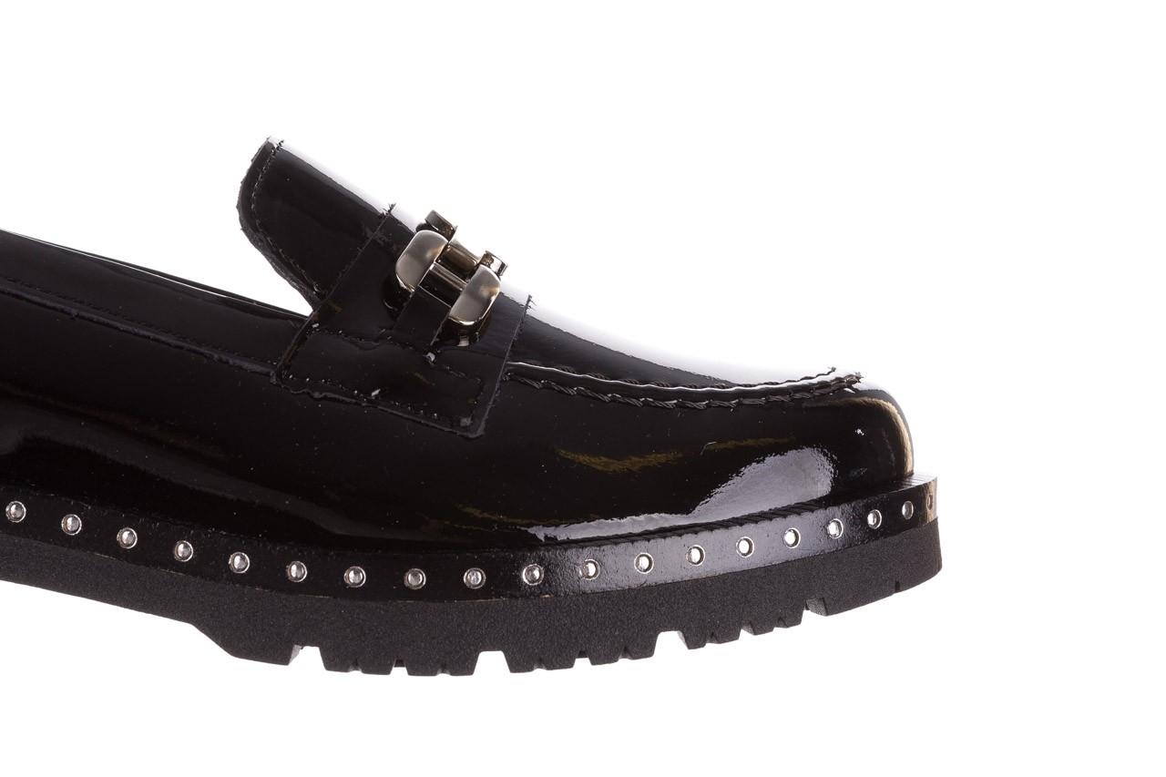 Półbuty pitillos 5811 negro, czarny, skóra naturalna lakierowana  - na obcasie - półbuty - buty damskie - kobieta 15