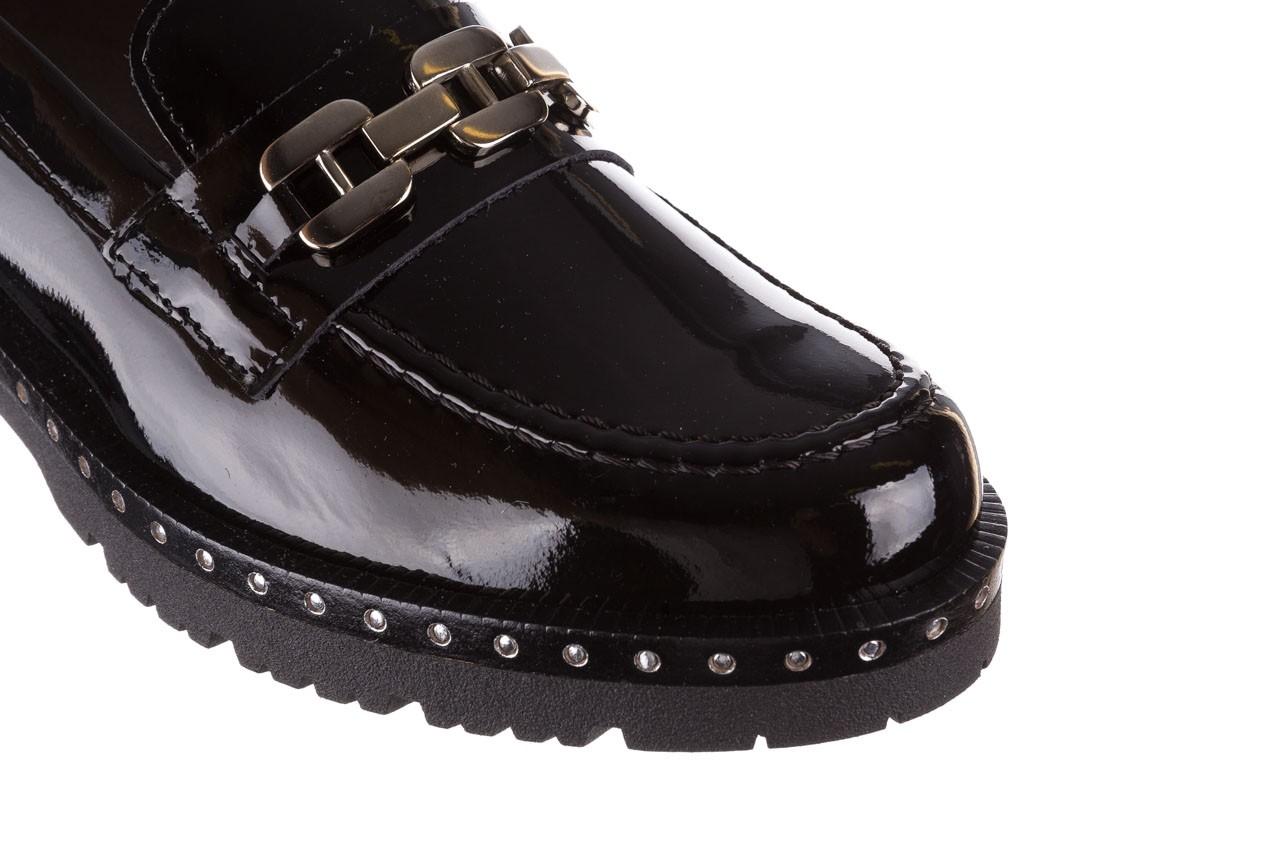 Półbuty pitillos 5811 negro, czarny, skóra naturalna lakierowana  - na obcasie - półbuty - buty damskie - kobieta 16