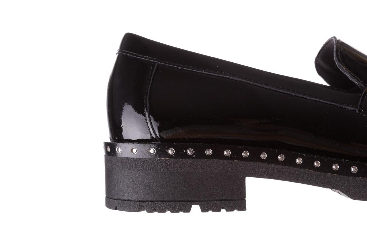Półbuty pitillos 5811 negro, czarny, skóra naturalna lakierowana  - na obcasie - półbuty - buty damskie - kobieta 17