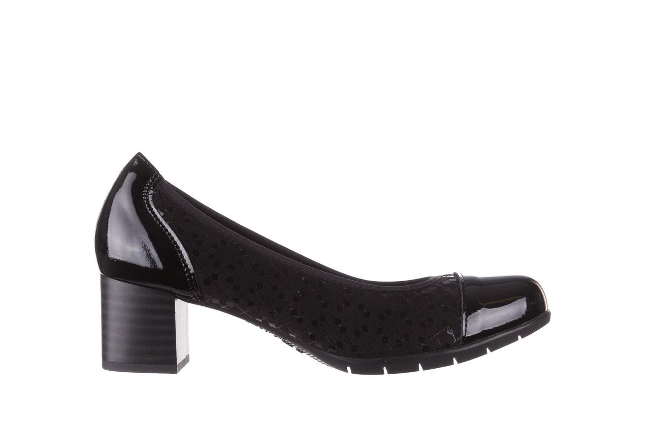 Czółenka pitillos 5740 negro-negr, czarny, skóra naturalna  - czółenka - buty damskie - kobieta 10