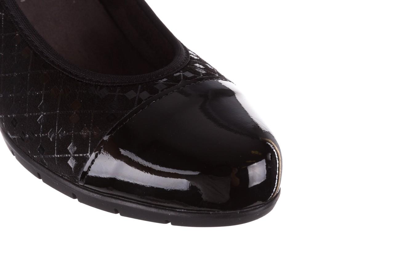 Czółenka pitillos 5740 negro-negr, czarny, skóra naturalna  - czółenka - buty damskie - kobieta 16