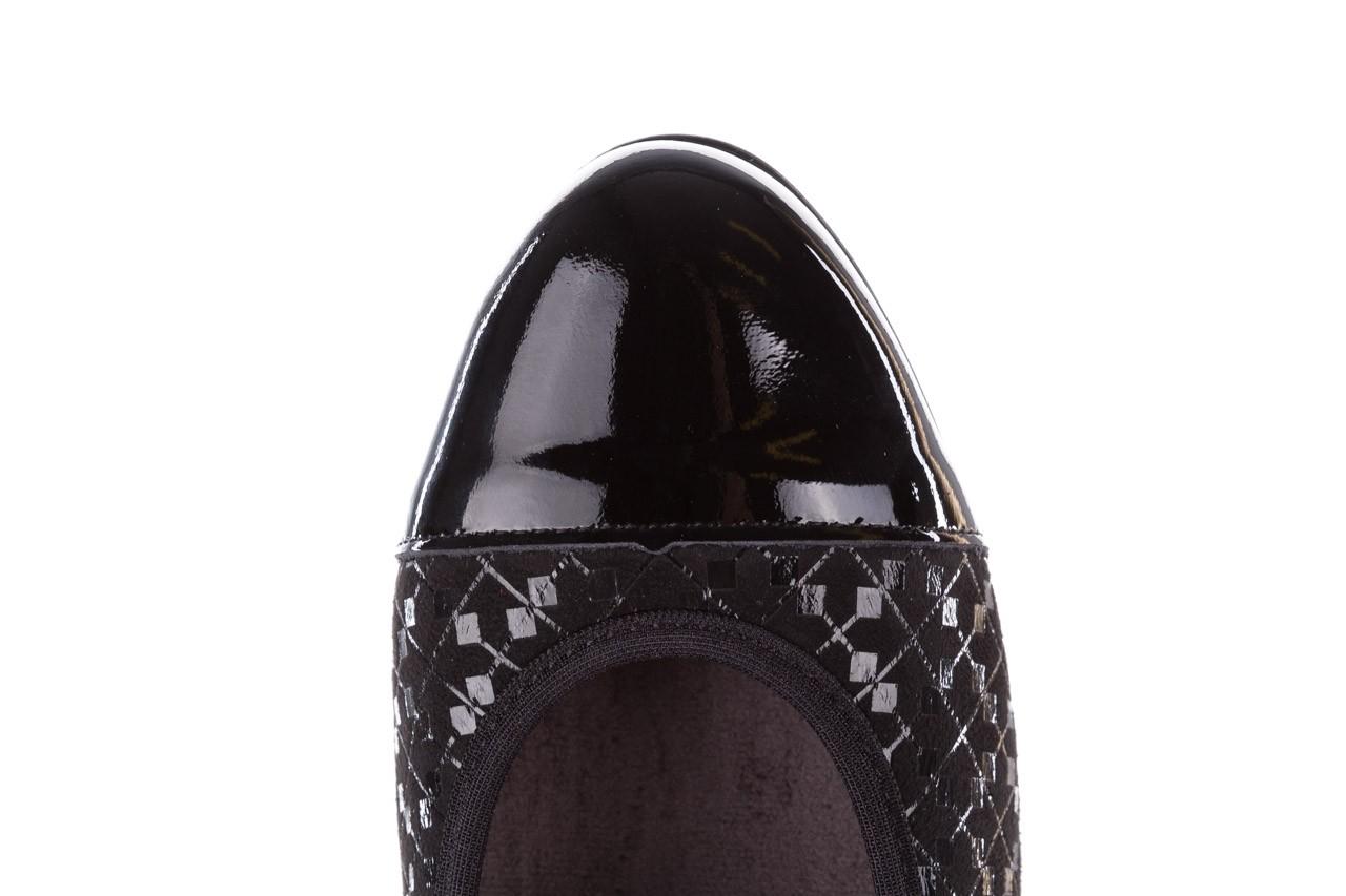 Czółenka pitillos 5740 negro-negr, czarny, skóra naturalna  - czółenka - buty damskie - kobieta 17