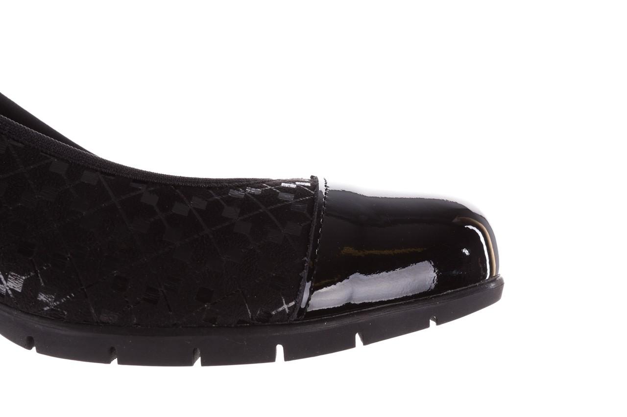 Czółenka pitillos 5740 negro-negr, czarny, skóra naturalna  - czółenka - buty damskie - kobieta 18