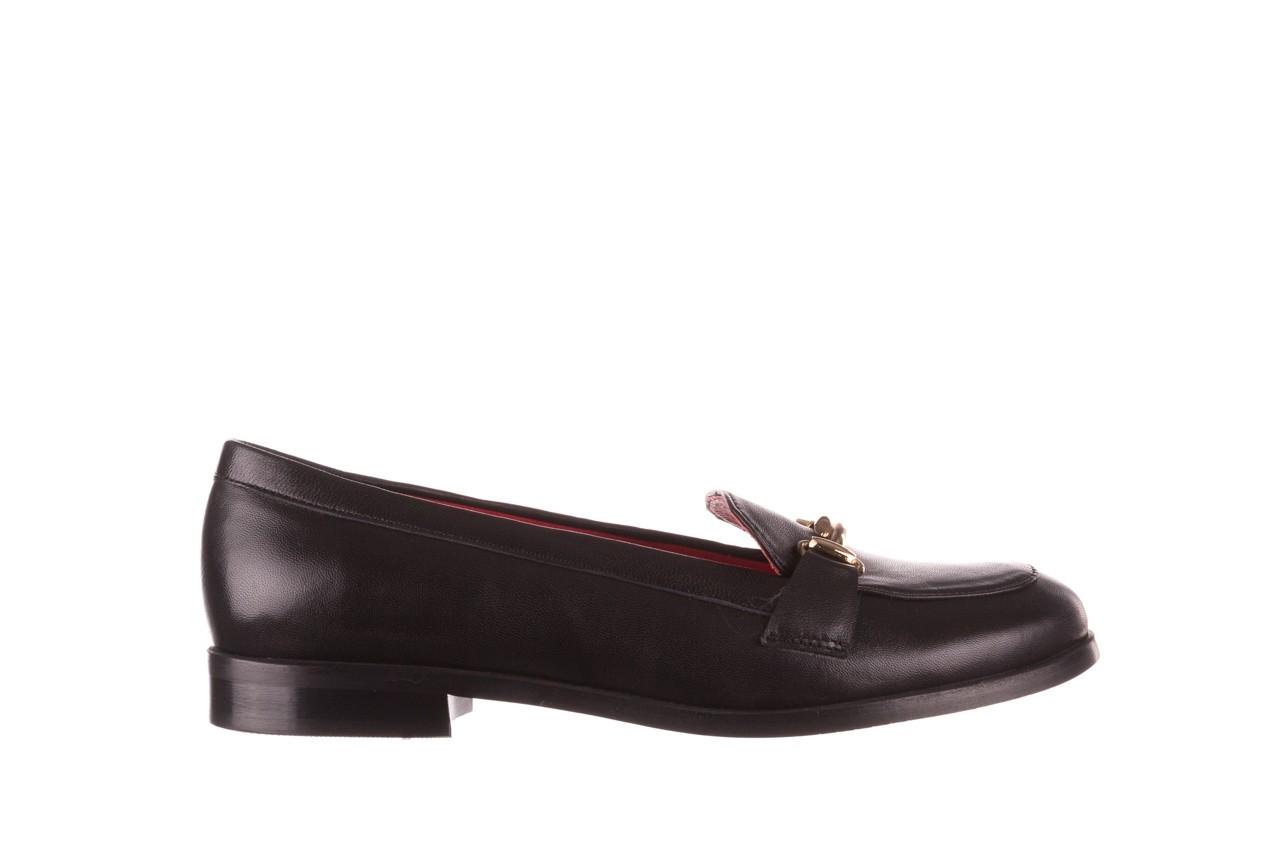 Półbuty bayla-157 b024-076-p czarny 157020, skóra naturalna  - skórzane - półbuty - buty damskie - kobieta 8
