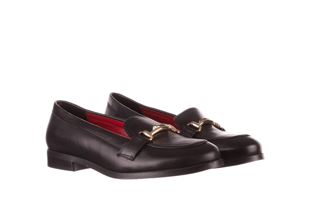 Półbuty bayla-157 b024-076-p czarny 157020, skóra naturalna  - skórzane - półbuty - buty damskie - kobieta 9