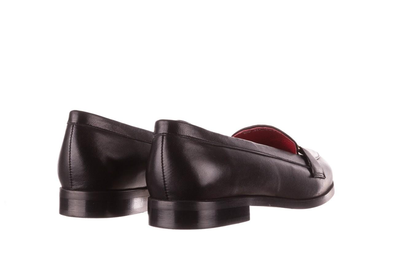 Półbuty bayla-157 b024-076-p czarny 157020, skóra naturalna  - skórzane - półbuty - buty damskie - kobieta 12
