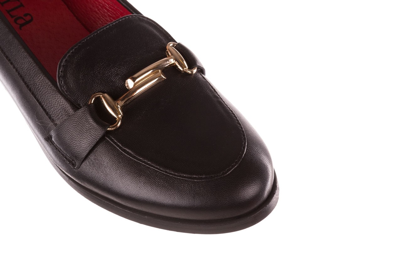 Półbuty bayla-157 b024-076-p czarny 157020, skóra naturalna  - skórzane - półbuty - buty damskie - kobieta 14