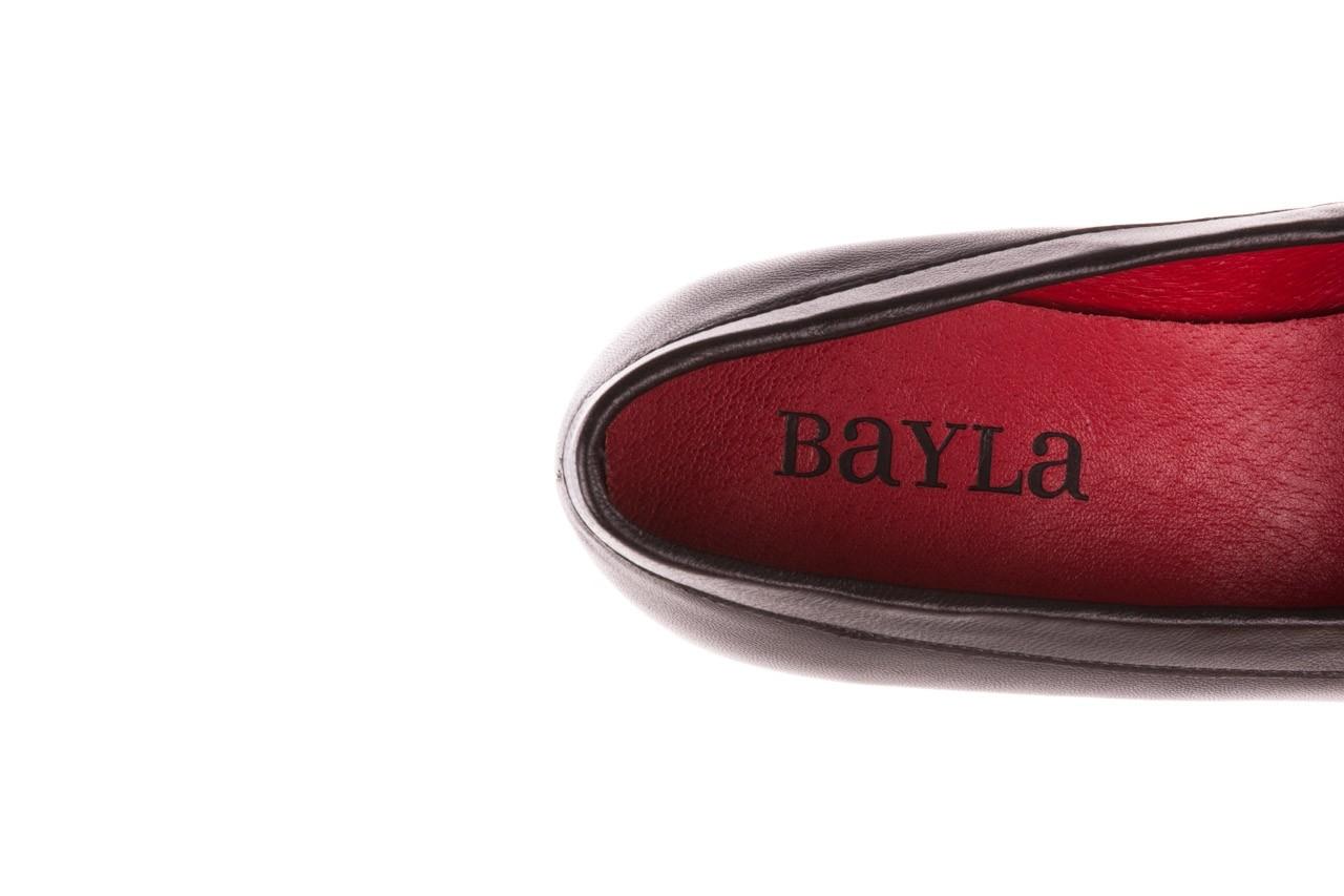 Półbuty bayla-157 b024-076-p czarny 157020, skóra naturalna  - skórzane - półbuty - buty damskie - kobieta 15
