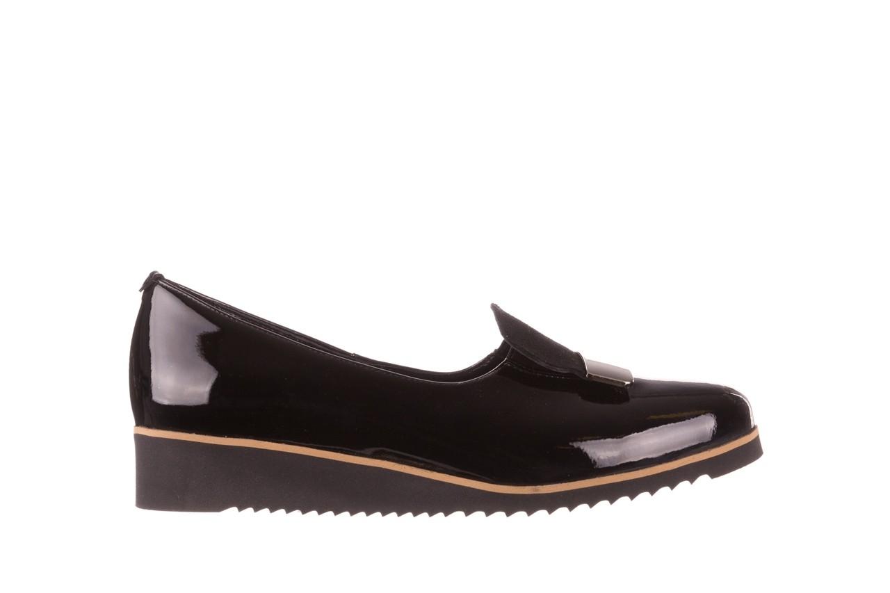 Półbuty bayla-157 b017-090-p czarny 157019, skóra naturalna lakierowana - półbuty - buty damskie - kobieta 8