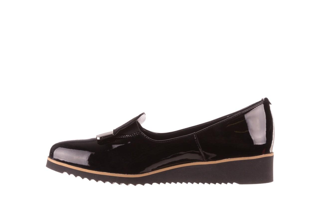 Półbuty bayla-157 b017-090-p czarny 157019, skóra naturalna lakierowana - skórzane - półbuty - buty damskie - kobieta 11