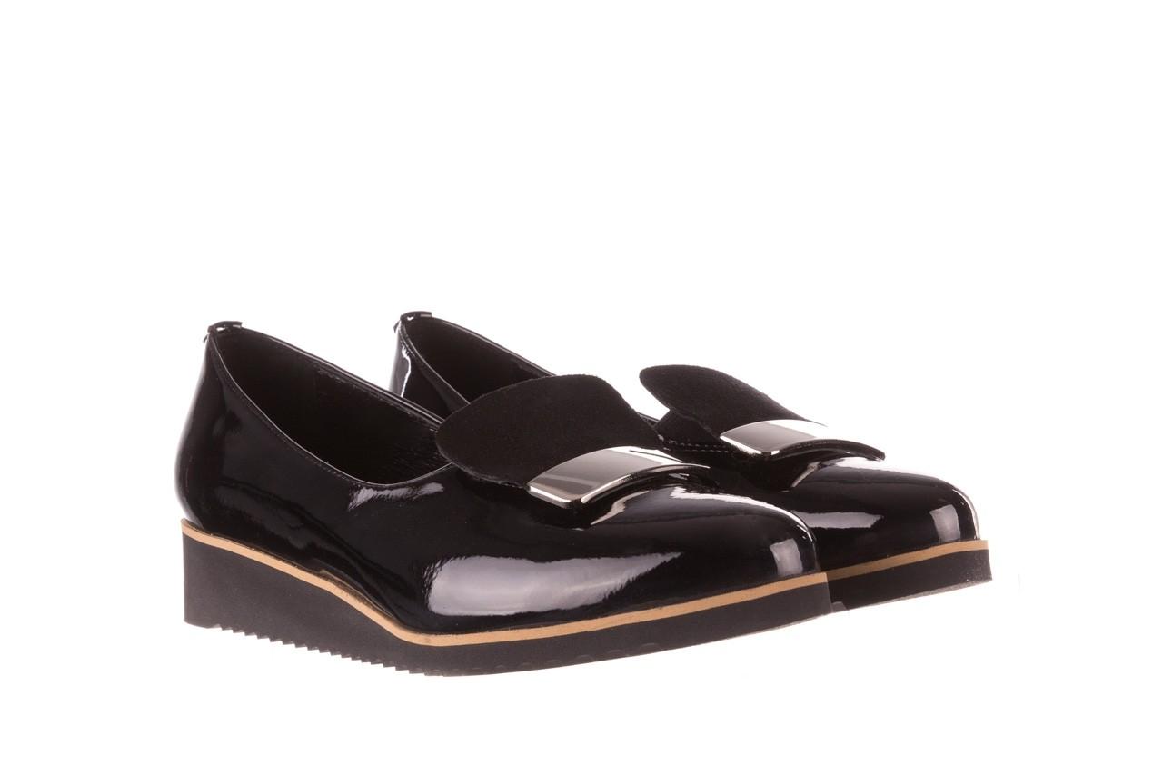 Półbuty bayla-157 b017-090-p czarny 157019, skóra naturalna lakierowana - półbuty - buty damskie - kobieta 9