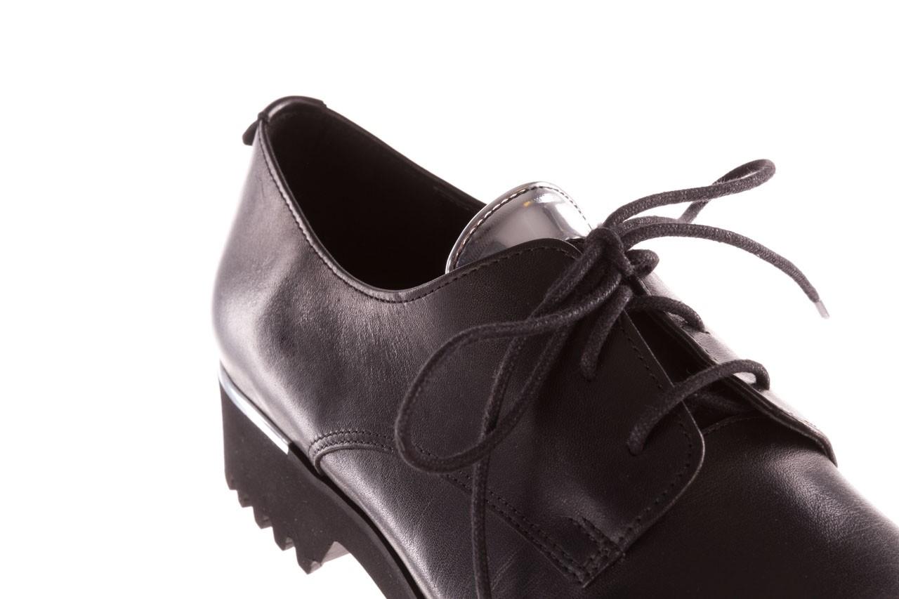 Półbuty bayla-157 b021-076-p czarny 157018, skóra naturalna - skórzane - półbuty - buty damskie - kobieta 14