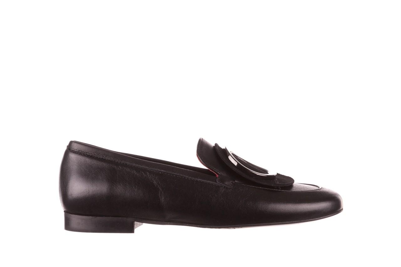 Półbuty bayla-157 b022-076-p czarny 157022, skóra naturalna  - skórzane - półbuty - buty damskie - kobieta 9