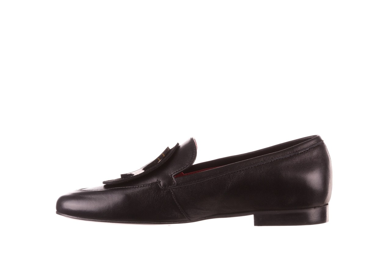 Półbuty bayla-157 b022-076-p czarny 157022, skóra naturalna  - skórzane - półbuty - buty damskie - kobieta 12