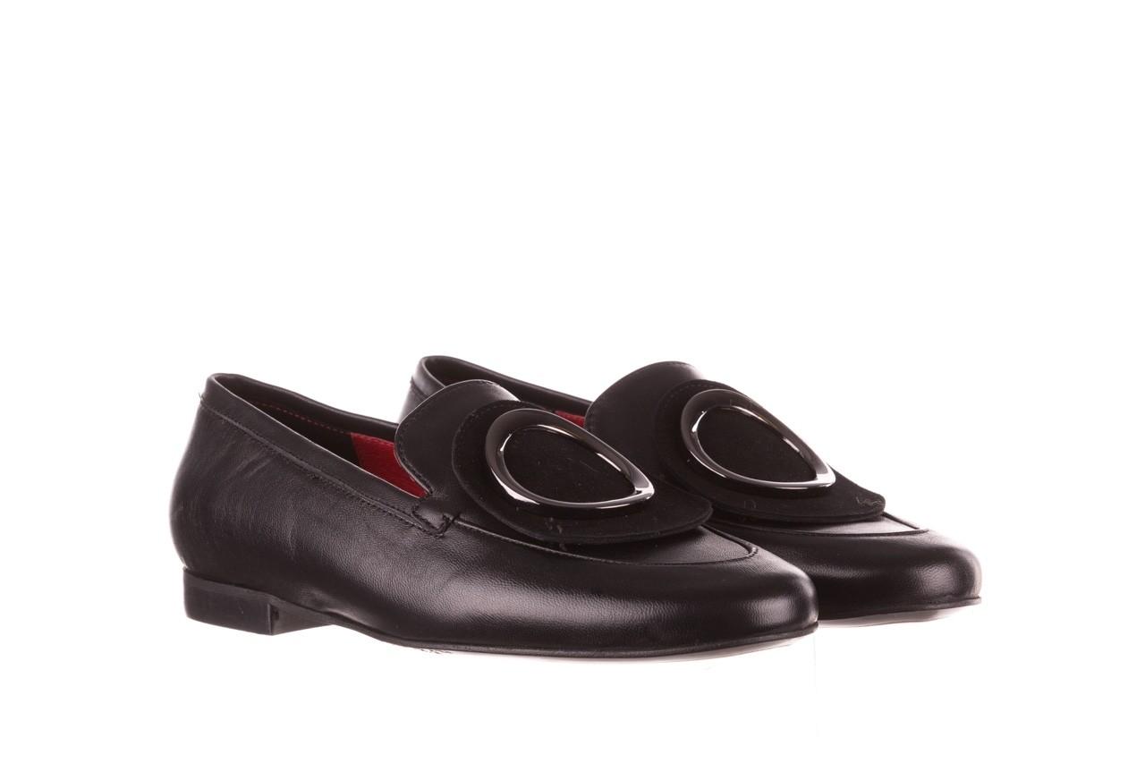 Półbuty bayla-157 b022-076-p czarny 157022, skóra naturalna  - skórzane - półbuty - buty damskie - kobieta 10