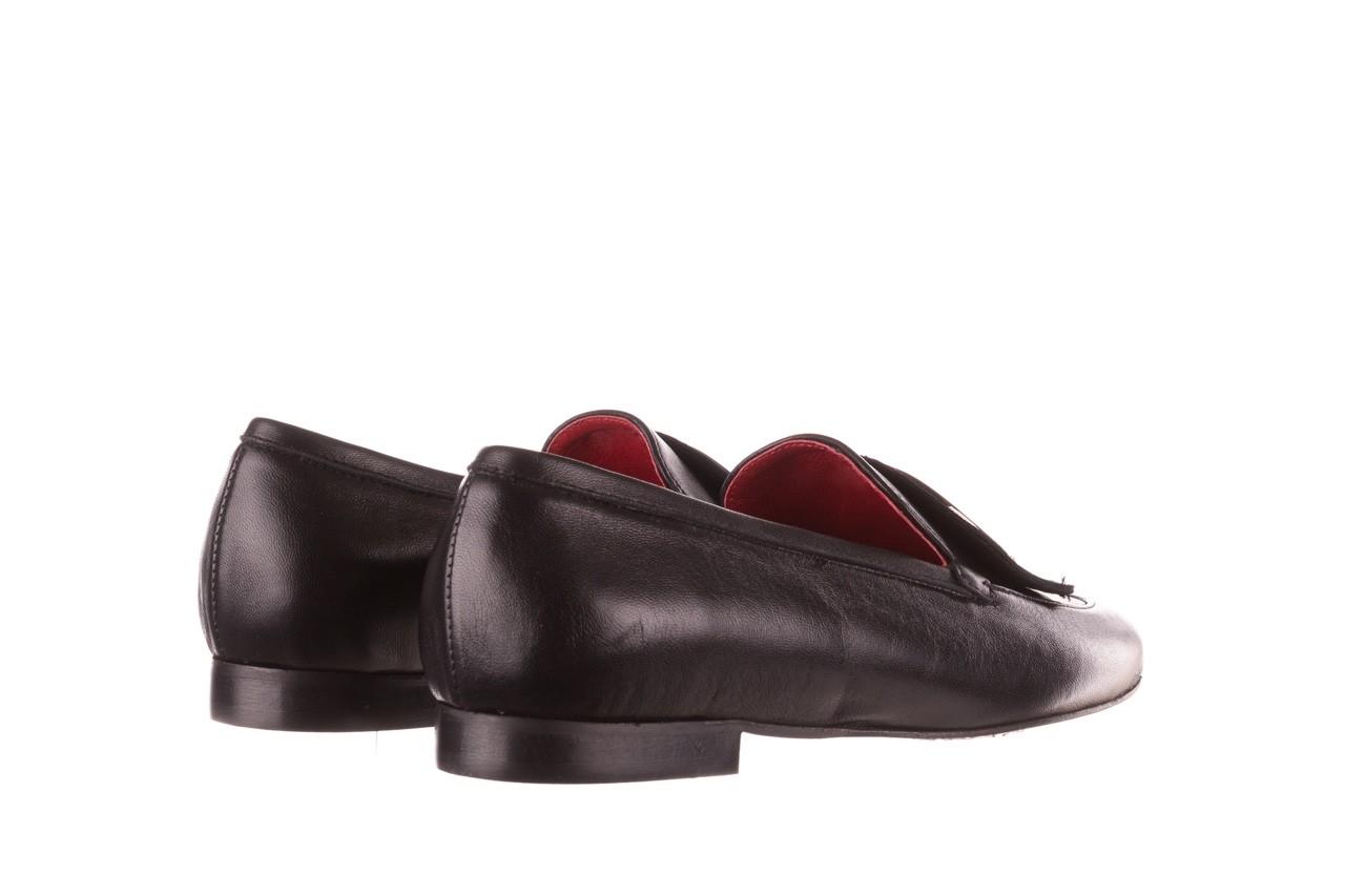 Półbuty bayla-157 b022-076-p czarny 157022, skóra naturalna  - skórzane - półbuty - buty damskie - kobieta 13