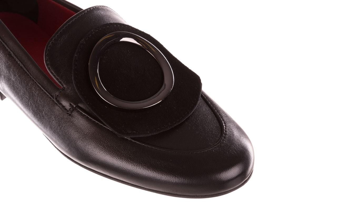 Półbuty bayla-157 b022-076-p czarny 157022, skóra naturalna  - skórzane - półbuty - buty damskie - kobieta 15
