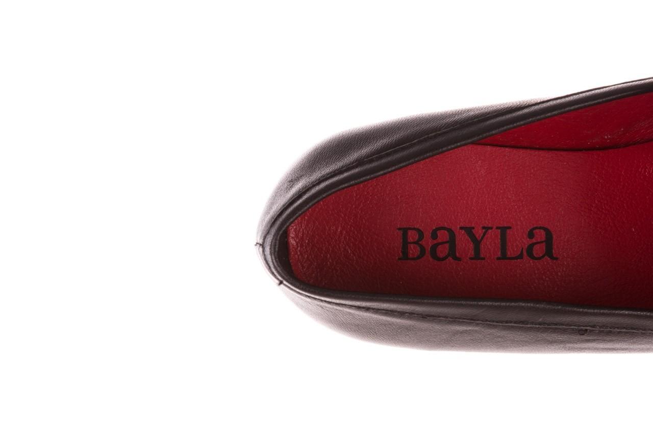 Półbuty bayla-157 b022-076-p czarny 157022, skóra naturalna  - skórzane - półbuty - buty damskie - kobieta 16