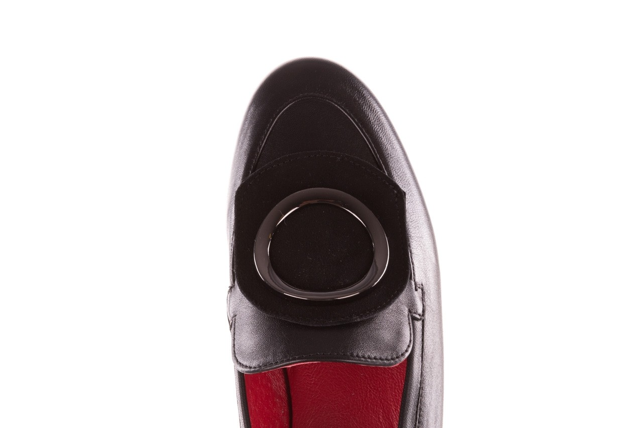 Półbuty bayla-157 b022-076-p czarny 157022, skóra naturalna  - skórzane - półbuty - buty damskie - kobieta 17
