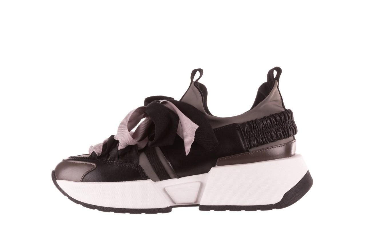 Sneakersy sca'viola e-32  graphite, szary, skóra naturalna - sale 13