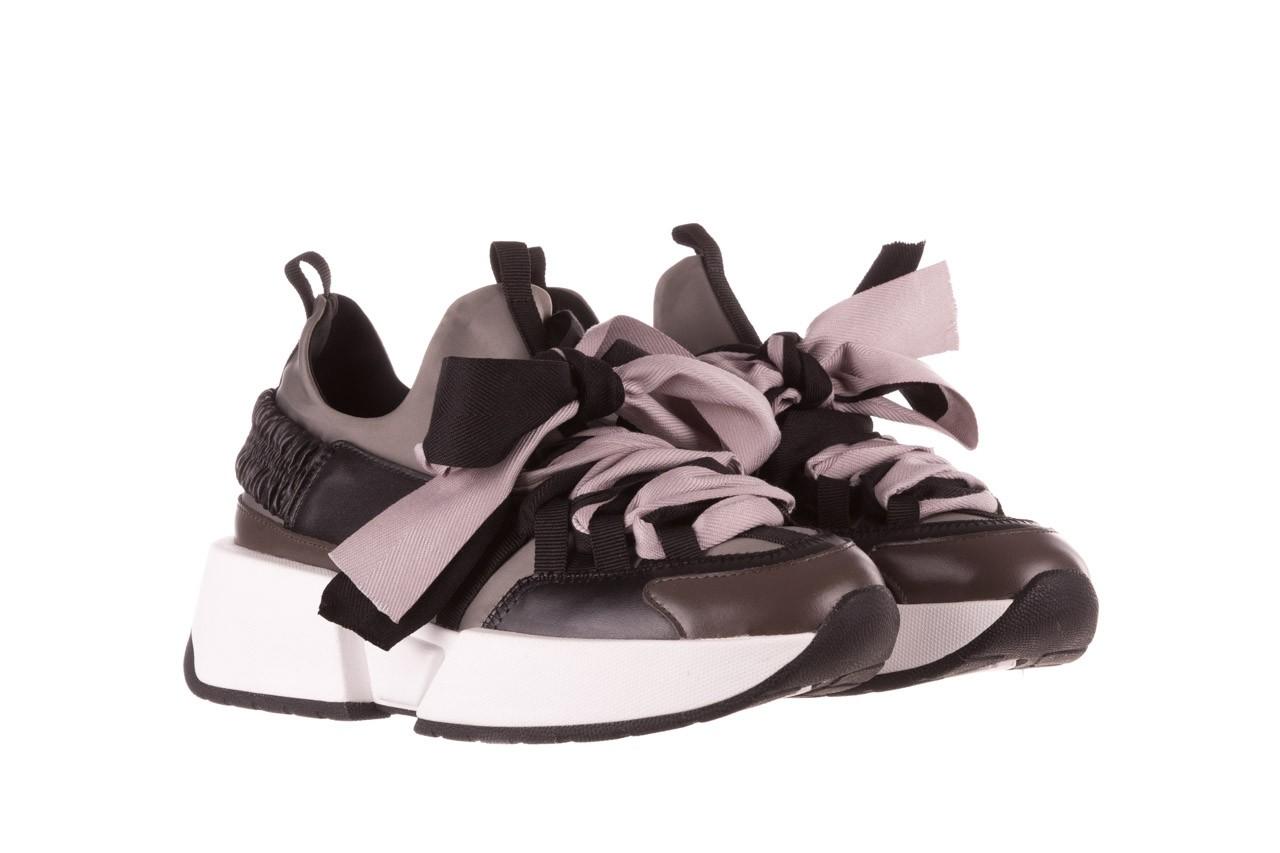 Sneakersy sca'viola e-32  graphite, szary, skóra naturalna - sale 11