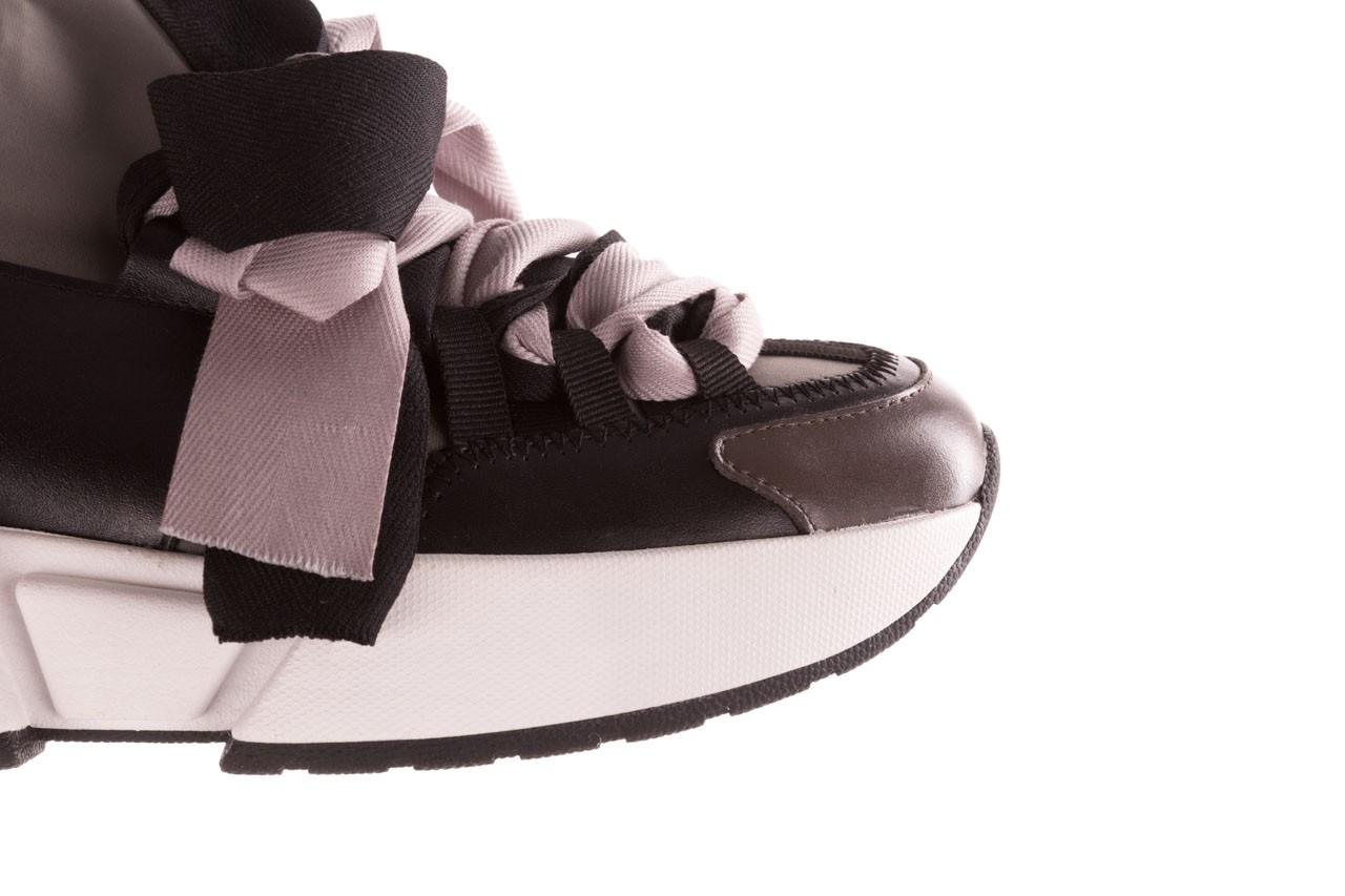 Sneakersy sca'viola e-32  graphite, szary, skóra naturalna - sale 17