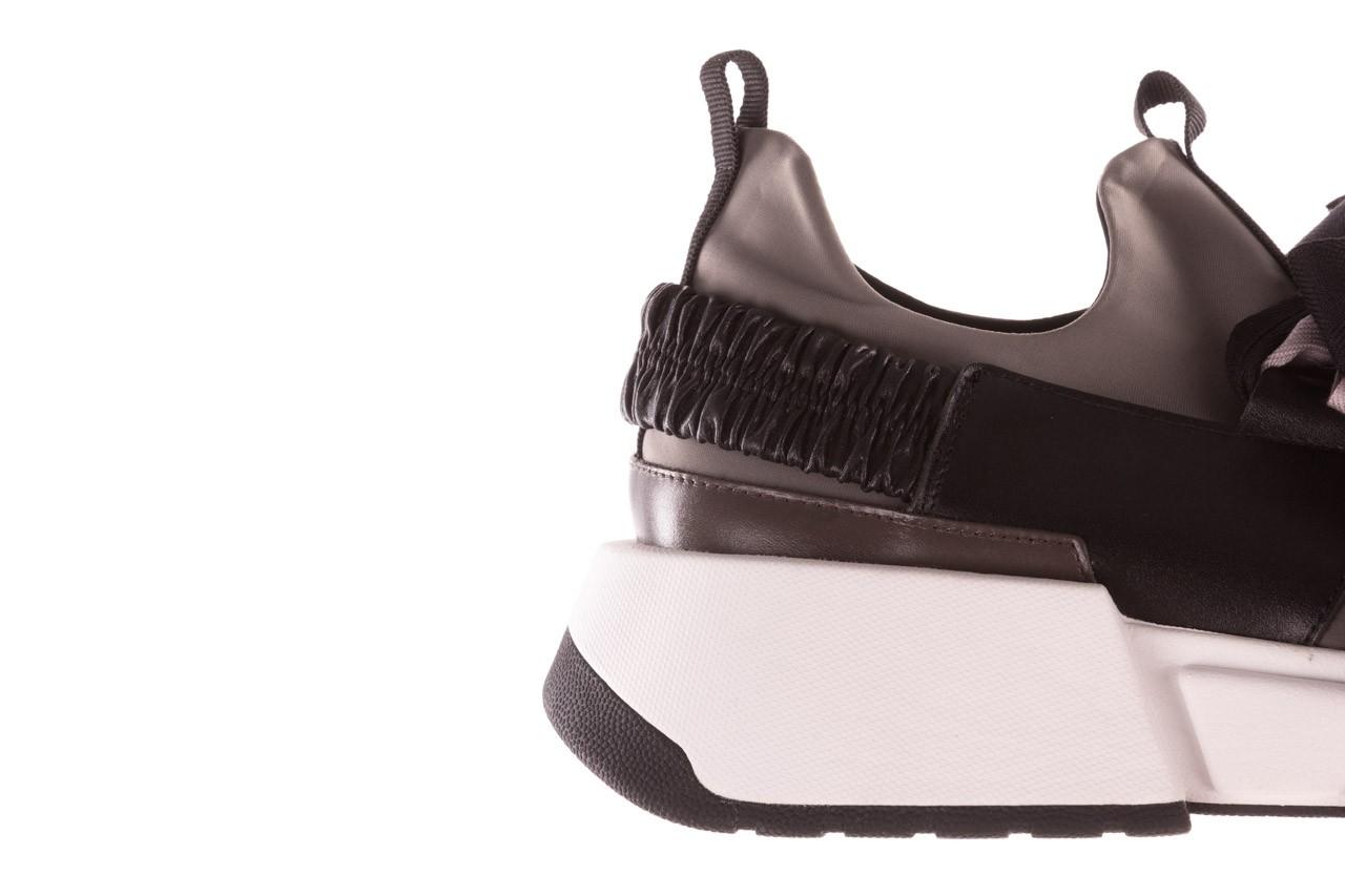 Sneakersy sca'viola e-32  graphite, szary, skóra naturalna - sale 18