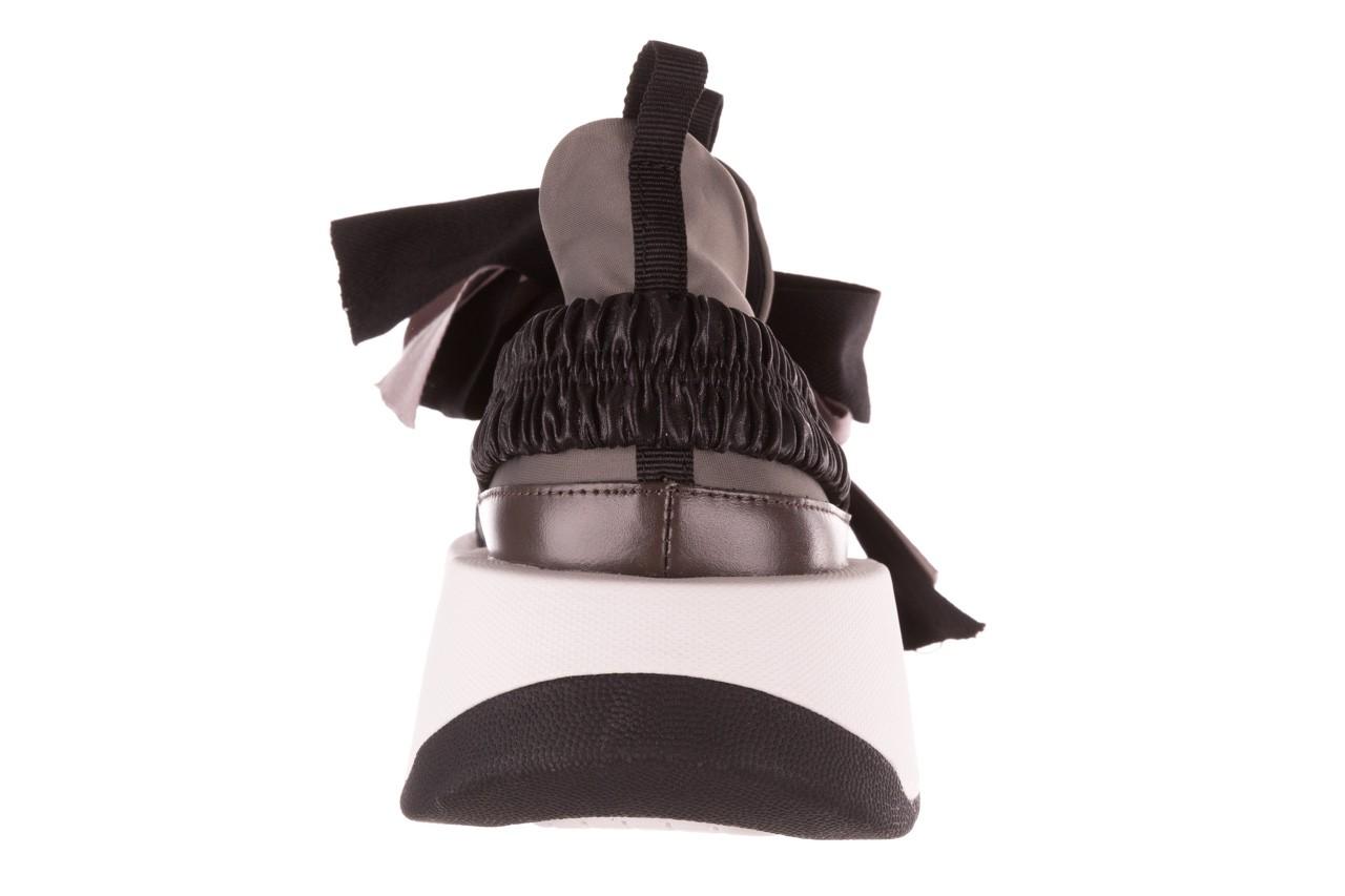 Sneakersy sca'viola e-32  graphite, szary, skóra naturalna - sale 19