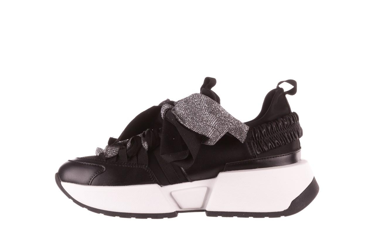 Sneakersy sca'viola e-31  black, czarny, skóra naturalna 13