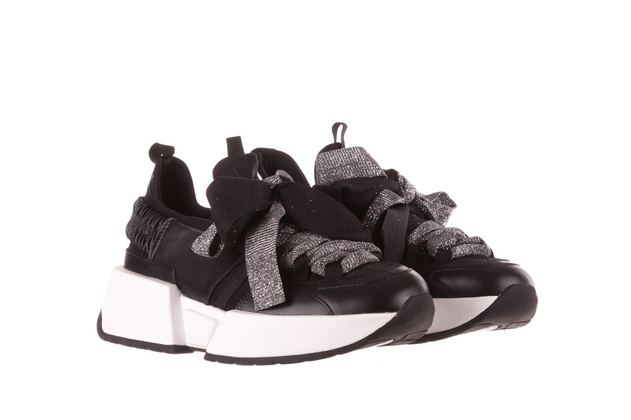 Sneakersy sca'viola e-31  black, czarny, skóra naturalna 11