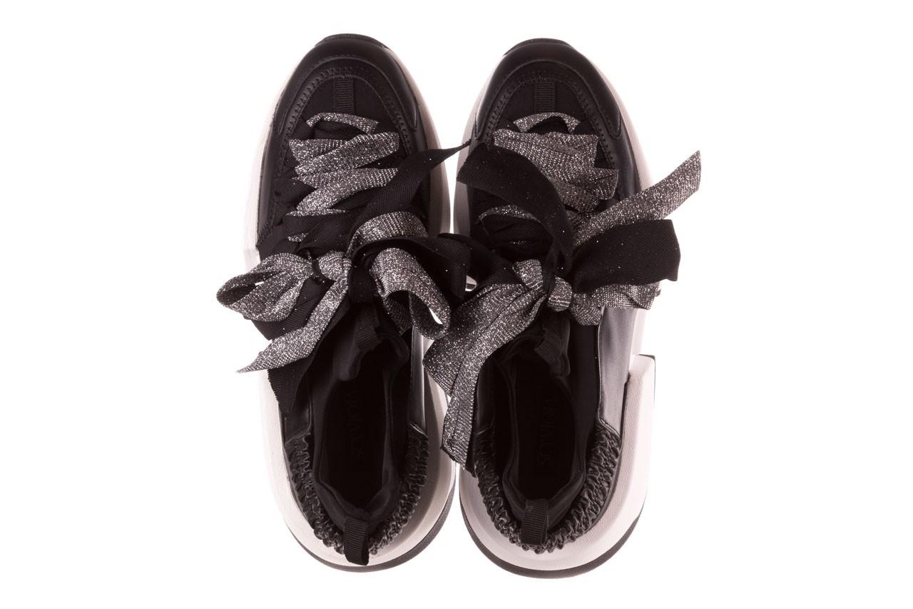 Sneakersy sca'viola e-31  black, czarny, skóra naturalna  - sneakersy - buty damskie - kobieta 15