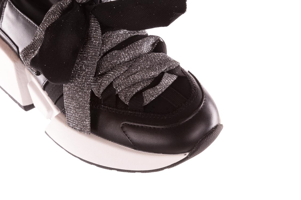 Sneakersy sca'viola e-31  black, czarny, skóra naturalna  - sneakersy - buty damskie - kobieta 16