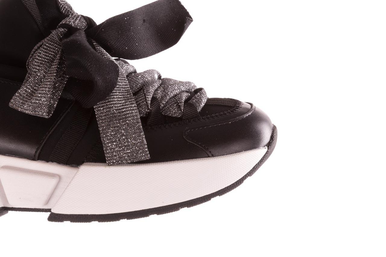 Sneakersy sca'viola e-31  black, czarny, skóra naturalna 17