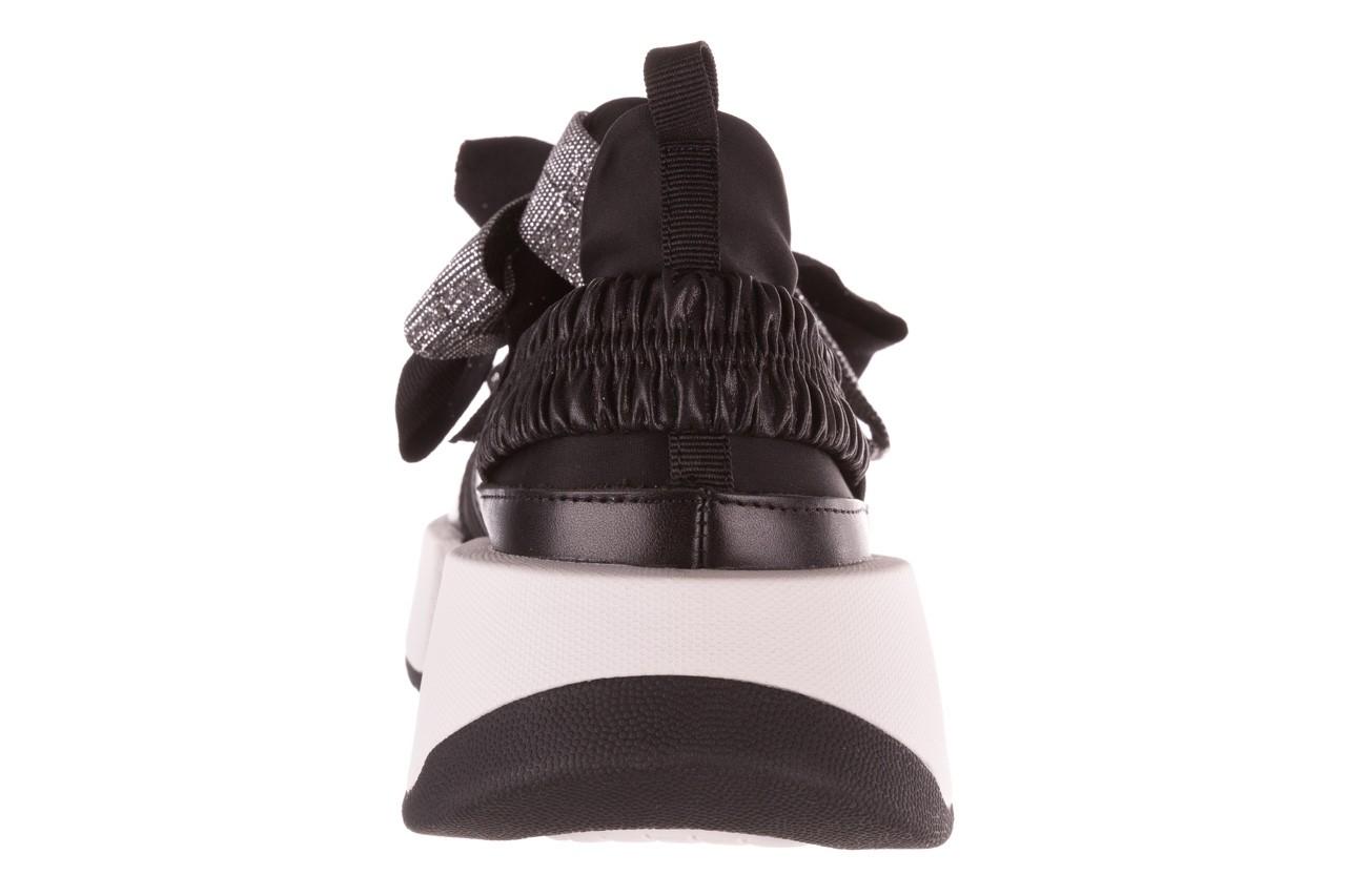 Sneakersy sca'viola e-31  black, czarny, skóra naturalna 19