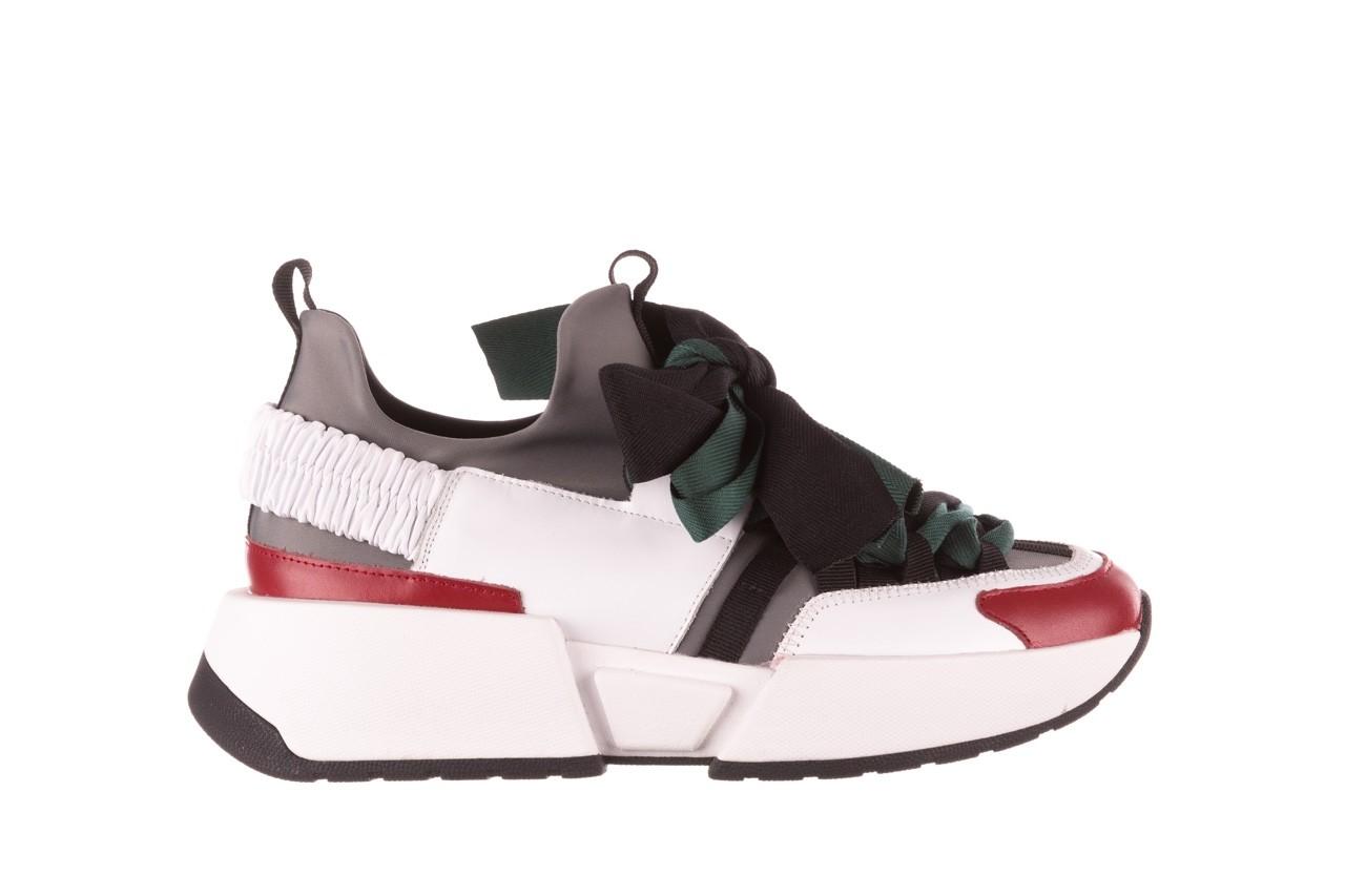 Sneakersy sca'viola e-33  green, zielony, skóra naturalna - obuwie sportowe - dla niej  - sale 10