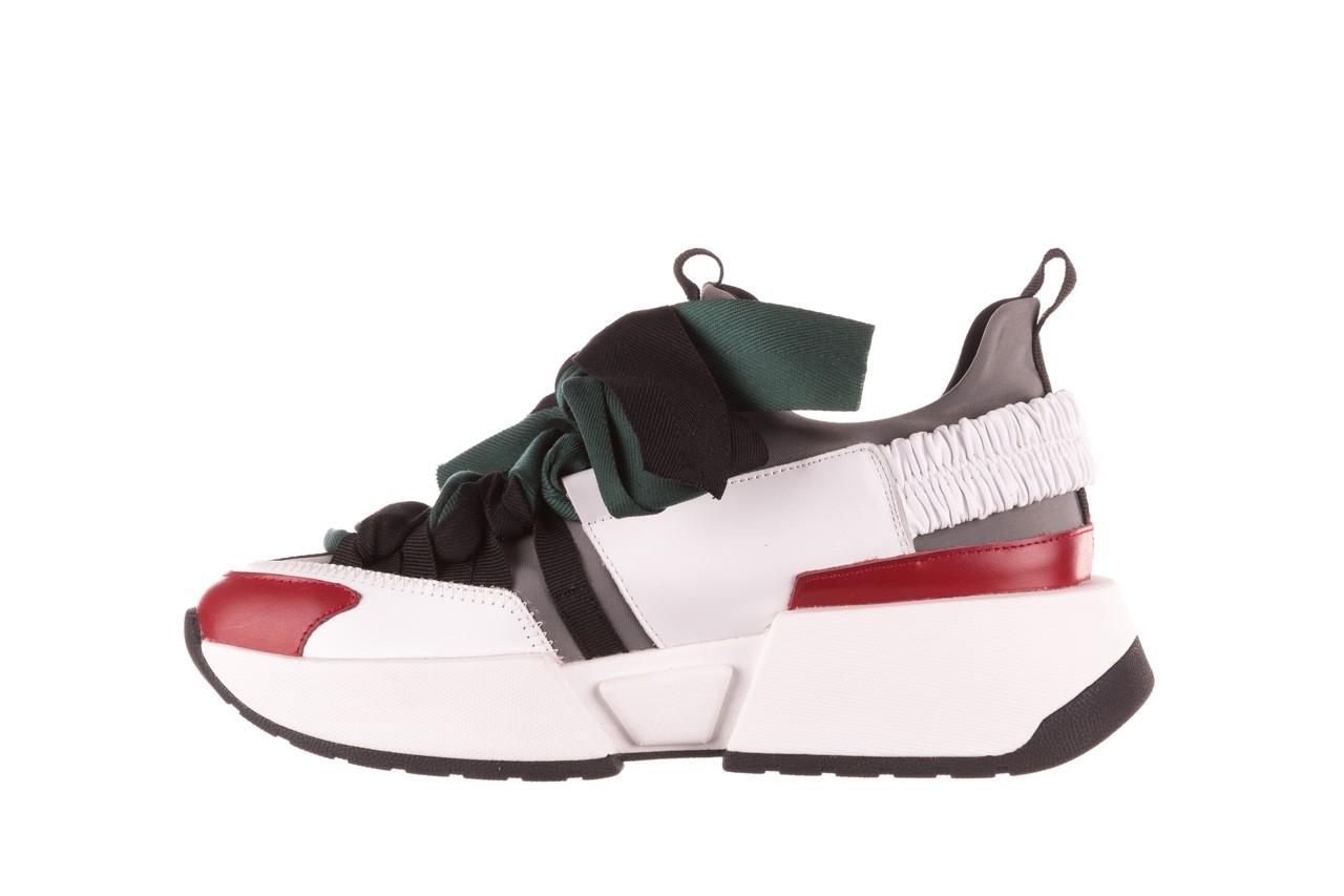 Sneakersy sca'viola e-33  green, zielony, skóra naturalna - obuwie sportowe - dla niej  - sale 13