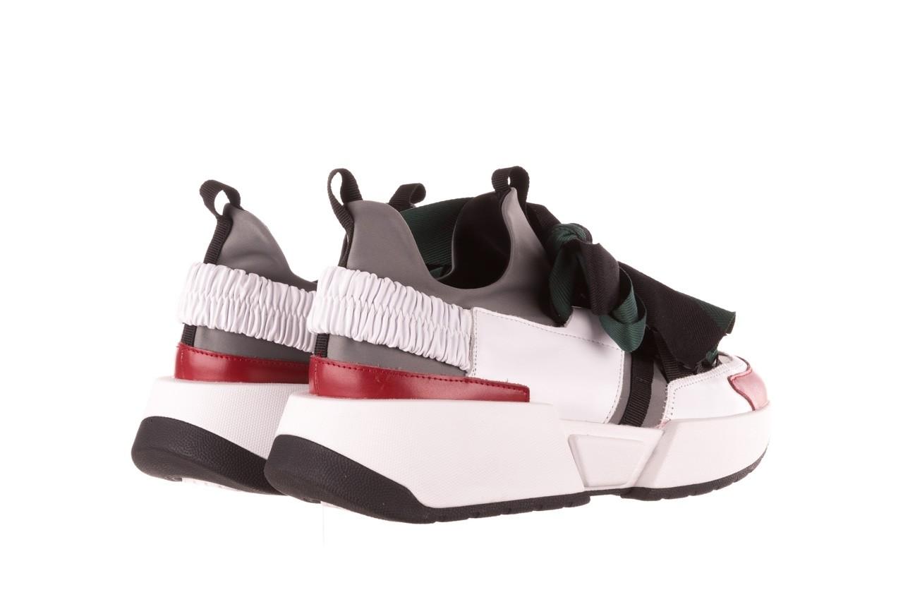 Sneakersy sca'viola e-33  green, zielony, skóra naturalna - obuwie sportowe - dla niej  - sale 14