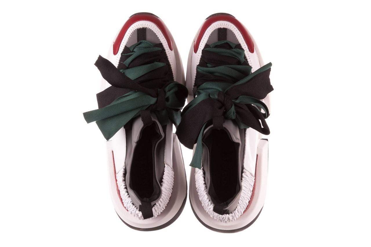 Sneakersy sca'viola e-33  green, zielony, skóra naturalna - obuwie sportowe - dla niej  - sale 15