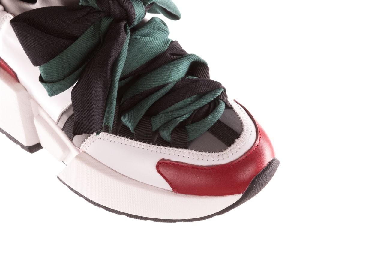 Sneakersy sca'viola e-33  green, zielony, skóra naturalna - obuwie sportowe - dla niej  - sale 16