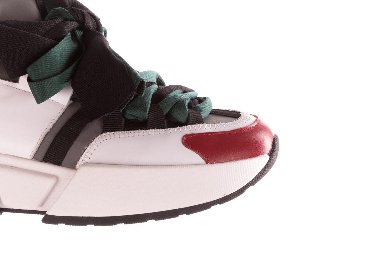 Sneakersy sca'viola e-33  green, zielony, skóra naturalna - obuwie sportowe - dla niej  - sale 17