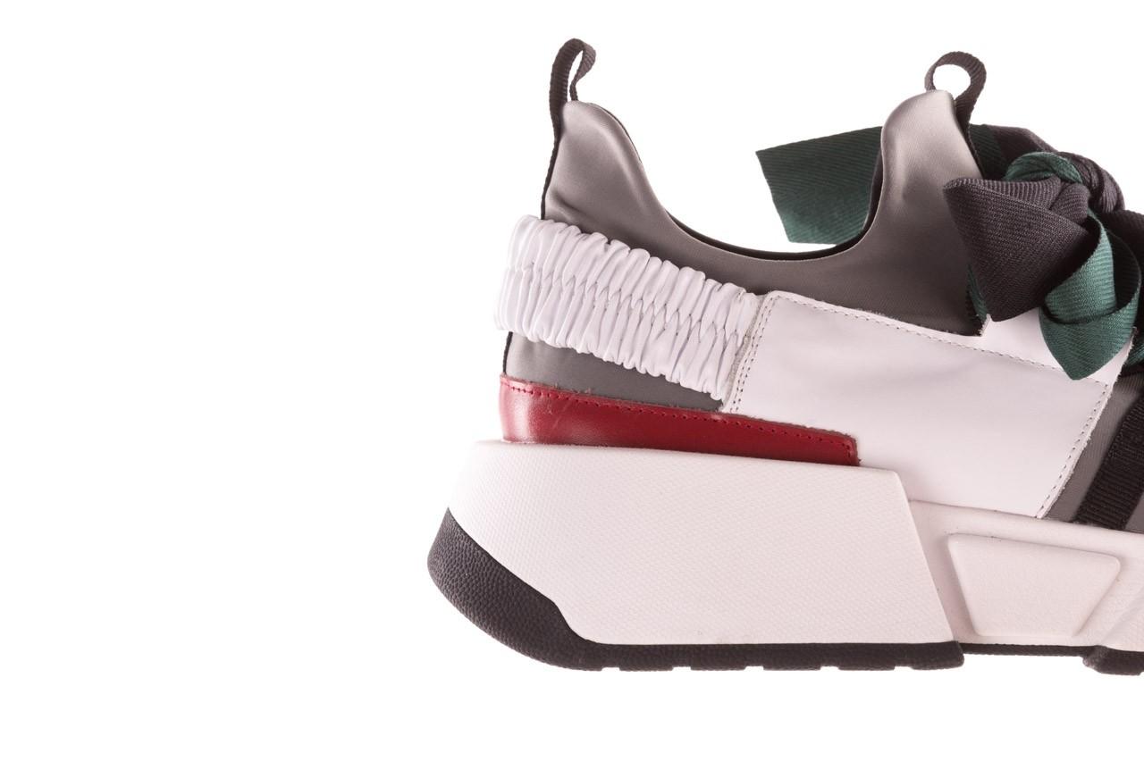Sneakersy sca'viola e-33  green, zielony, skóra naturalna - obuwie sportowe - dla niej  - sale 18