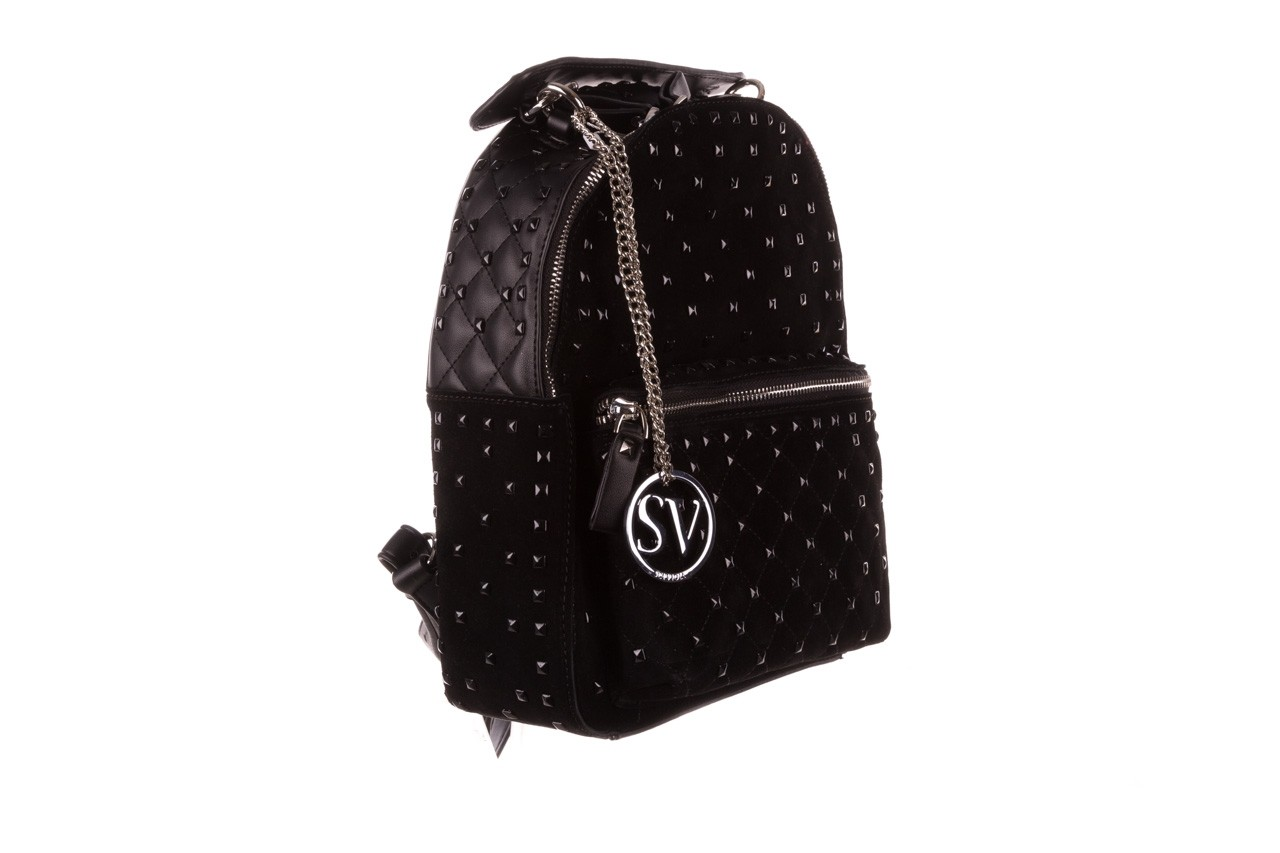 Plecak sca'viola t-57 black, czarny, skóra naturalna  - torebki - akcesoria - kobieta 10