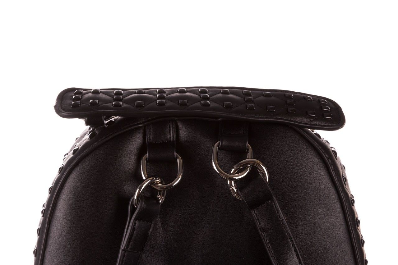 Plecak sca'viola t-57 black, czarny, skóra naturalna  - torebki - akcesoria - kobieta 12