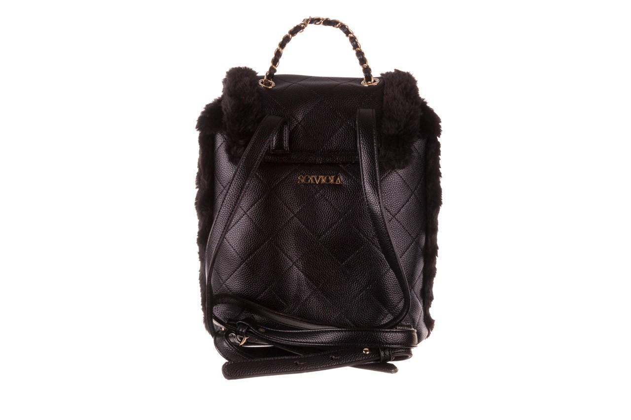 Plecak sca'viola t-58 black, czarny, skóra naturalna  - torebki - akcesoria - kobieta 11