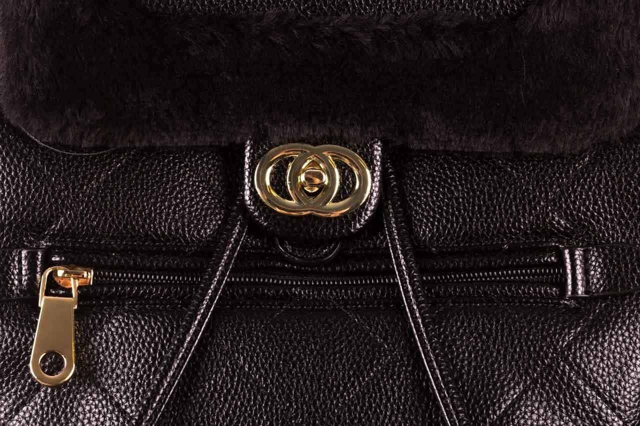 Plecak sca'viola t-58 black, czarny, skóra naturalna  - torebki - akcesoria - kobieta 13