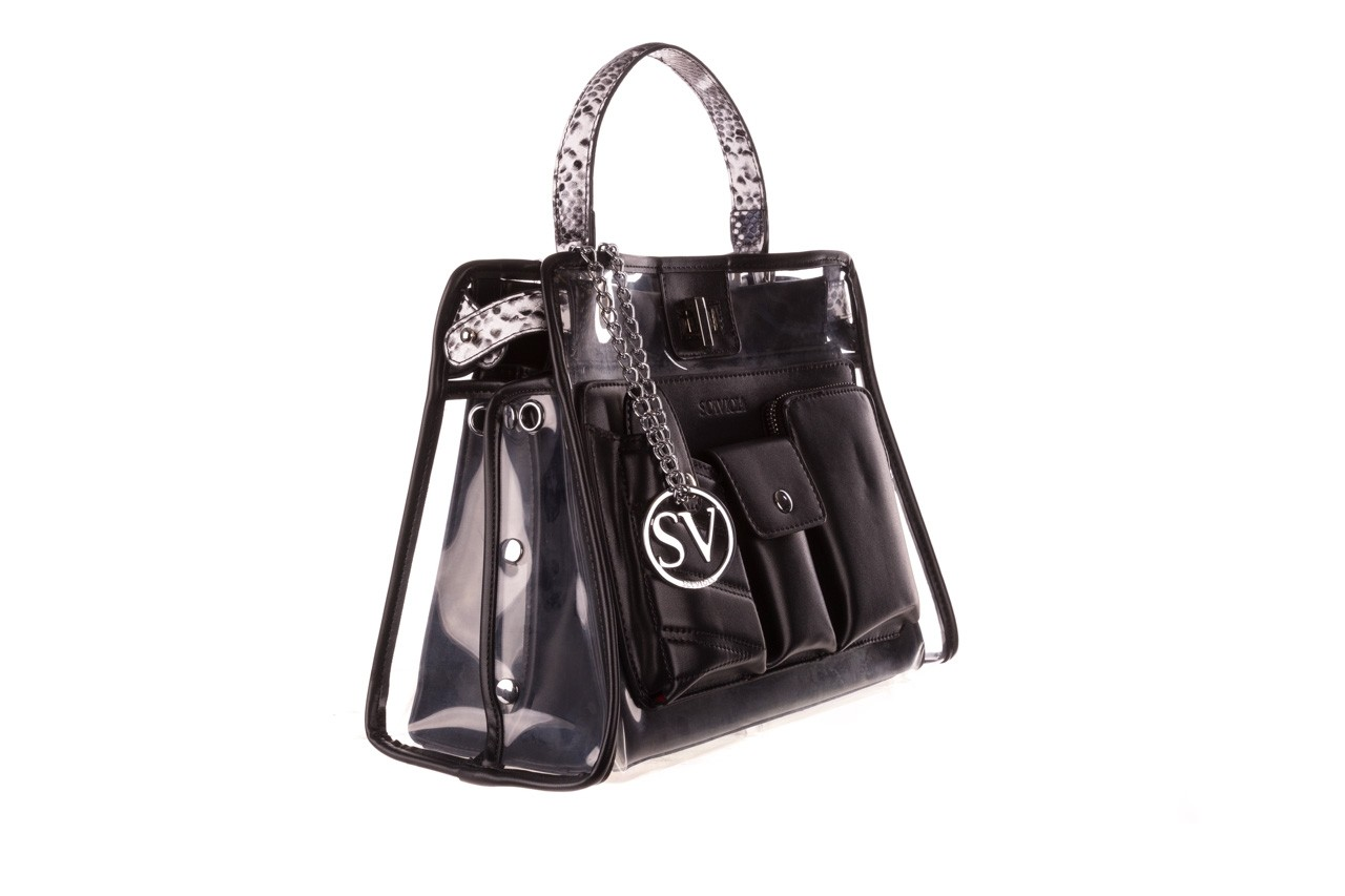 Torebka sca'viola t-59 black, czarny, skóra naturalna  - torebki - akcesoria - kobieta 8