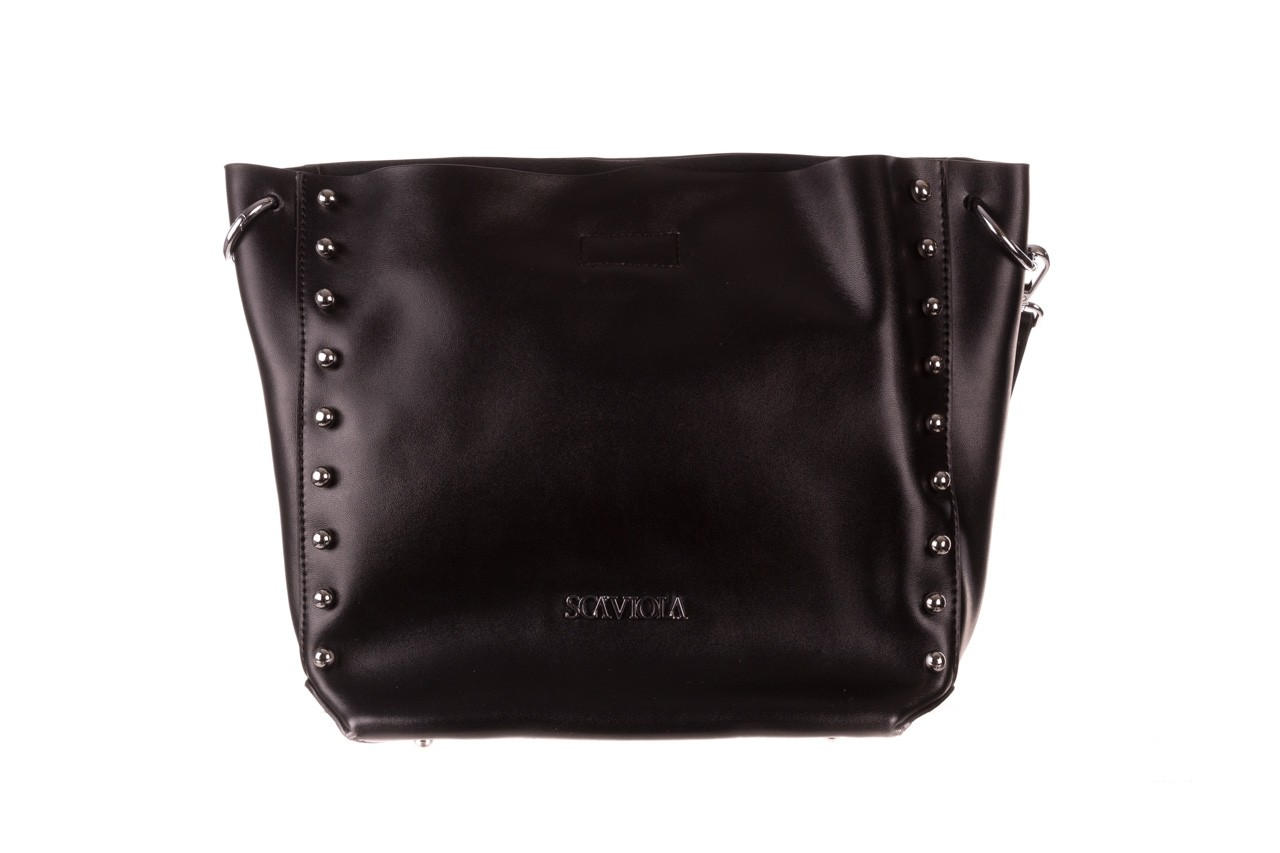 Torebka sca'viola t-56 black, czarny, skóra naturalna  - torebki - akcesoria - kobieta 12