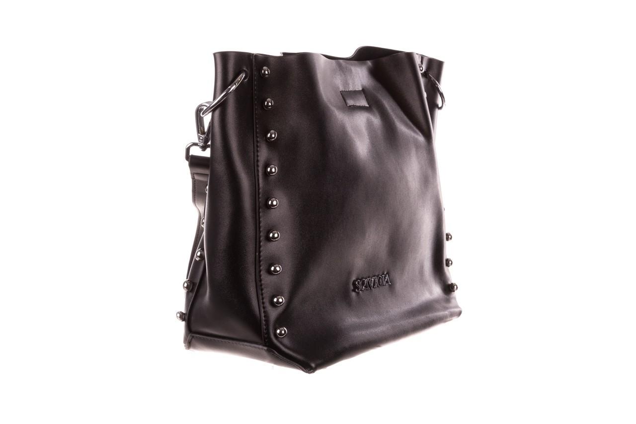 Torebka sca'viola t-56 black, czarny, skóra naturalna  - torebki - akcesoria - kobieta 10